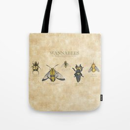 wannabees: Bee Mimicking Inects Tote Bag
