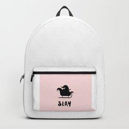 Santa's SLAY - cheeky christmas Backpack