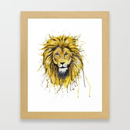 Lionish Framed Art Print
