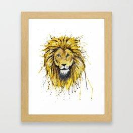 Lionish Framed Art Print