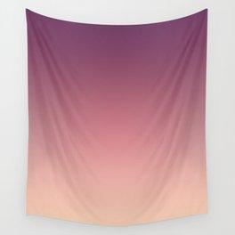 Purple cream Ombre . Wall Tapestry