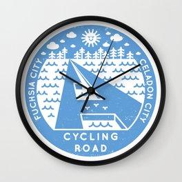 Cycling Road (Pokémon) Wall Clock