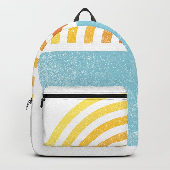 Vinyl Sunset Backpack