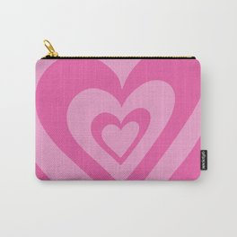 Love Power - bright pink Carry-All Pouch