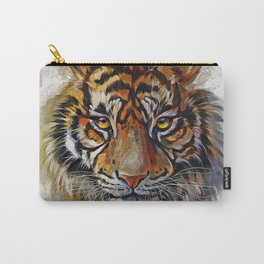 Tigers Eyes Carry-All Pouch
