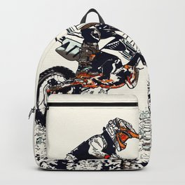 """High Flyer"" Motocross Racer Rucksack"
