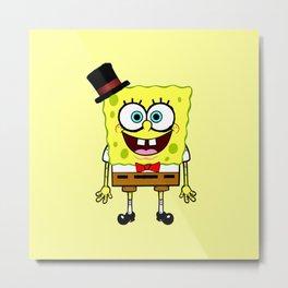 Spongebob party Metal Print