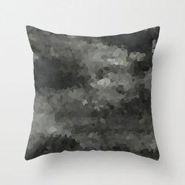 Cristals Throw Pillow