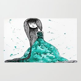 The Emerald Dress Rug