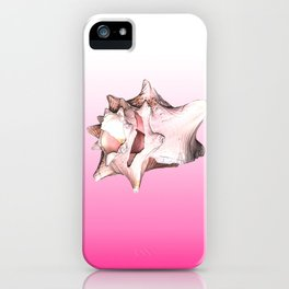 Ombre Conch iPhone Case