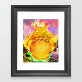 my neighbor Framed Art Print