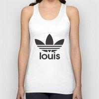 louis tomlinson Tank Tops featuring Louis Tomlinson Adidas Logo by itzmiri