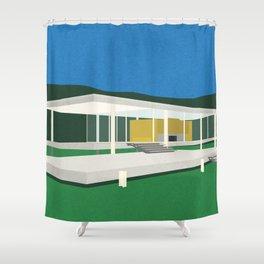 Farnsworth House Shower Curtain
