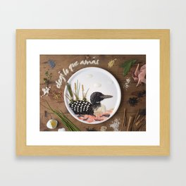 Gavia  Framed Art Print