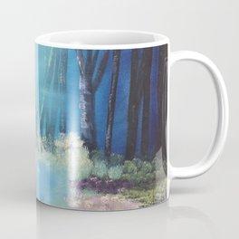 Nightfall at the pond Coffee Mug