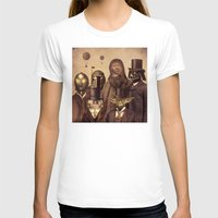 square T-shirts featuring Victorian Wars  by Terry Fan
