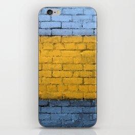 Colorful Brick Wall iPhone Skin