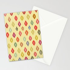 beach house ikat diamonds Stationery Cards