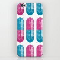 pills iPhone & iPod Skins featuring Pills by Oomy12