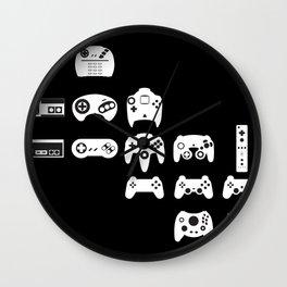 History of gaming Wall Clock