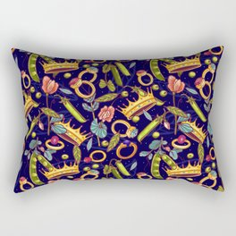 Princess and the Pea. Rectangular Pillow