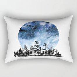 Frozen Sky Rectangular Pillow