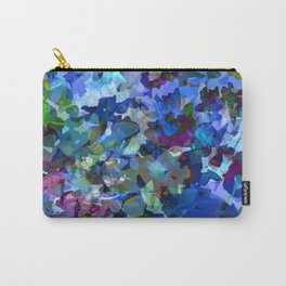 Blue Violet Woods Carry-All Pouch
