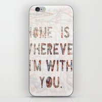 ohio iPhone & iPod Skins featuring HOME (Ohio) by Madison Daniels