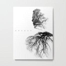 Origin Metal Print