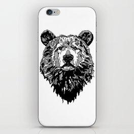 WHITE BEAR iPhone Skin