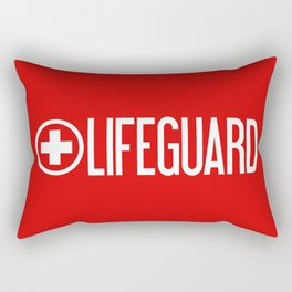 Lifeguard Rectangular Pillow