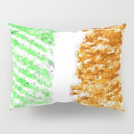 flag of ireland 10 -ireland,eire,airlann,irish,gaelic,eriu,celtic,dublin,belfast,joyce,beckett Pillow Sham