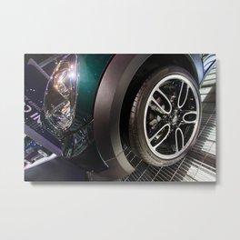 BMW Mini Paceman Wheel Metal Print