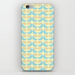 Trippy Wave Pattern iPhone Skin