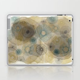 Watercolour Spirograph Laptop & iPad Skin