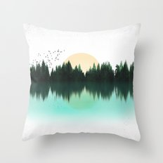 The Sounds of Nature Throw Pillow