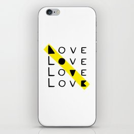 LOVE yourself - others - all animals - our planet iPhone Skin