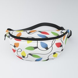 Endless Christmas Lights Fanny Pack