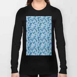 Ice Pixels Long Sleeve T-shirt