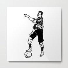 Football Soccer Metal Print