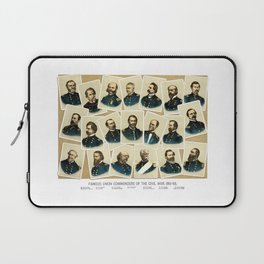 Union Commanders of The Civil War Laptop Sleeve