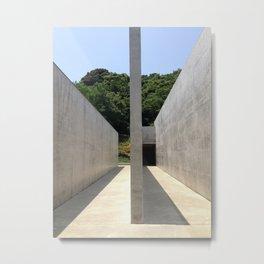 Lee Ufan Museum, Naoshima Island - Ellie Wen Metal Print