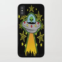 outer space iPhone & iPod Cases featuring OUTER SPACE by Amber's Realm