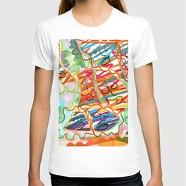 Colorful Fear T-shirt
