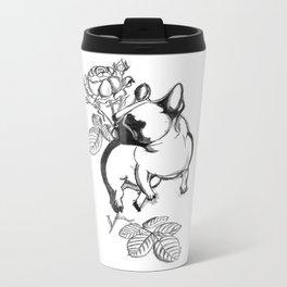 Rosie dog Metal Travel Mug