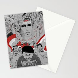 Corruption and Nepotism! Stationery Cards