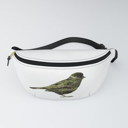 olive tree sparrow Fanny Pack
