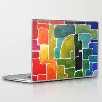 runner Laptop & iPad Skins featuring Maze Runner by Lara Nicholls