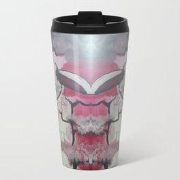 Pink Puff Power Travel Mug