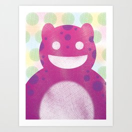 Sasha Monster Art Print